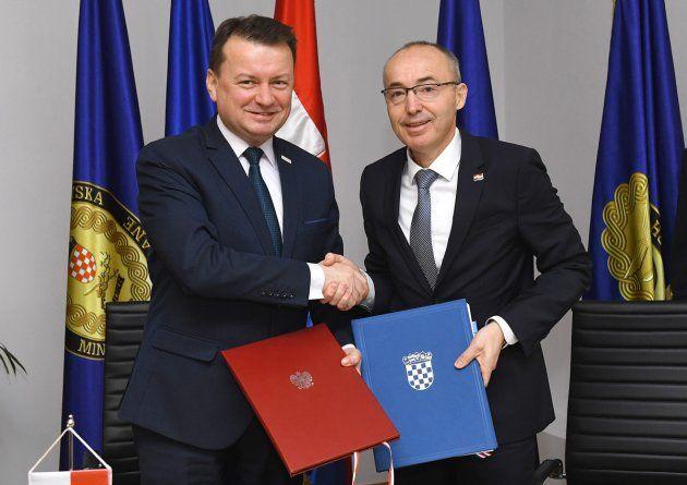 Krstičević i Błaszczak potpisali Sporazum o obrambenoj suradnji Hrvatske i Poljske