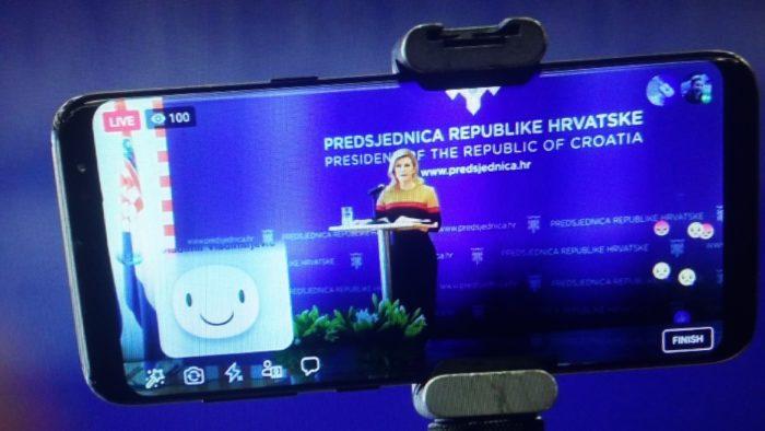 Predsjednica Kolinda Grabar-Kitarović: Čvrsto vjerujem da Hrvatska želi i može bolje