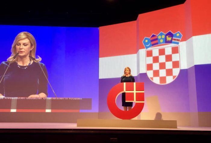 Predsjednica Grabar-Kitarović na početku posjeta Njemačkoj: privući poduzetnike da ulažu u RH