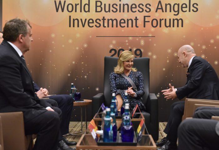 Predsjednica Grabar-Kitarović na forumu poslovnih anđela pozvala na ulaganje u Hrvatsku