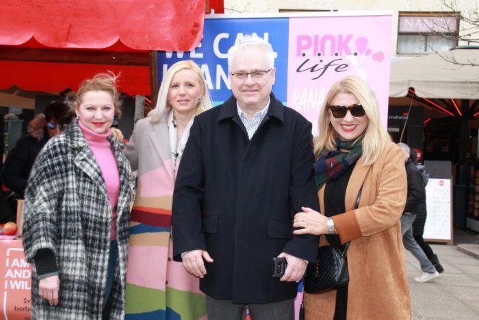 """Na Cvjetnom trgu obilježen Svjetski dan borbe protiv raka pod geslom """"I am and I will"""""""