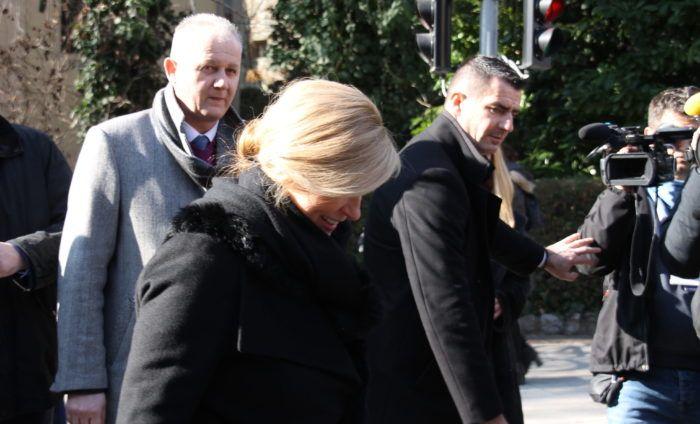 Predsjednica Grabar-Kitarović o pomilovanju Luksetića i prozivkama na svoj preventivni zdravstveni pregled u privatnoj poliklinici