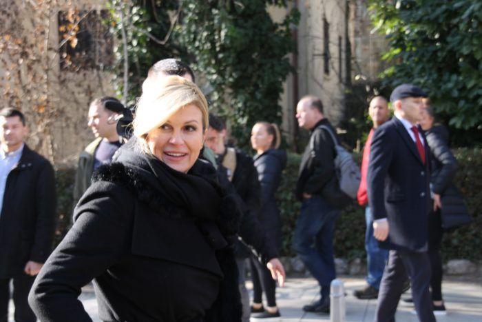 Portal Index u stopu pratio obilazak Zagreba predsjednice Grabar-Kitarović. Na kraju je razgledala centar grada