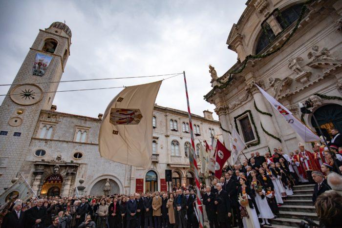 Na blagdan Kandelore u Dubrovniku je otvorena 1047. Festa sv. Vlaha