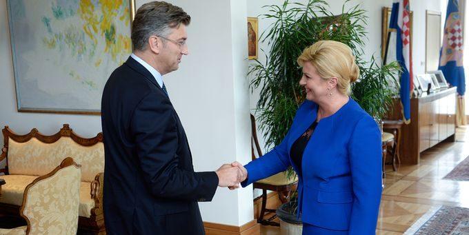 """Plenković vjeruje da će HDZ podržati Grabar-Kitarović na izborima: """"Najvažnije je da najprije čujemo njezinu čvrstu i jasnu odluku"""""""