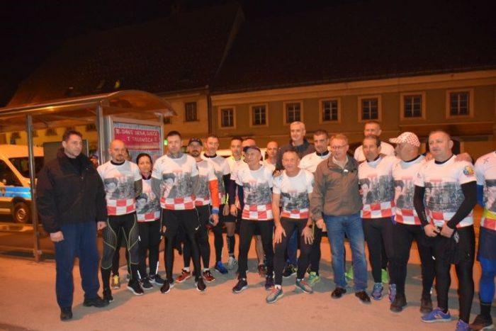 Krenuo Ultra maraton u znak sjećanja na prvog hrvatskog redarstvenika Josipa Jovića