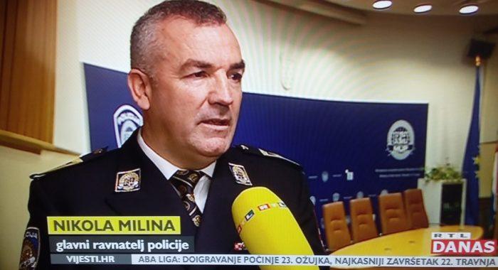 """Ravnatelj policije Nikola Milina o novinarki Net.hr-a Đurđici Klancir: """"Ne radi se o nalogu političara ni župana ni načelnika policijske uprave nego redovitom policijskom postupanju"""""""