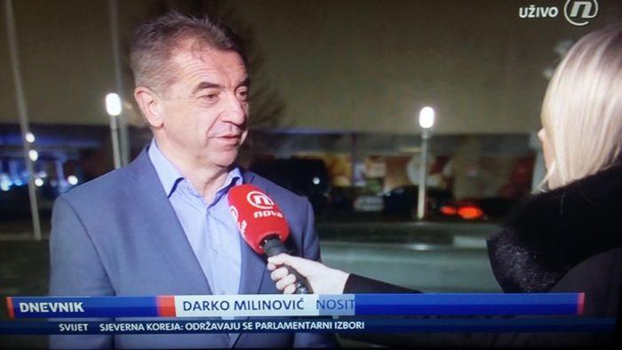 """Milinović za Dnevnik Nove TV: """"HDZ će imati najgori izborni rezultat u povijesti ove županije"""""""