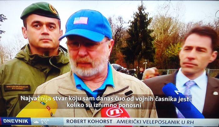 """VJEŽBE EVAKUACIJE – Veleposlanik SAD-a Kohorst: """"Pripadnici američke vojske ponosni su što sudjeluju u ovakvim vježbama s hrvatskom policijom"""""""