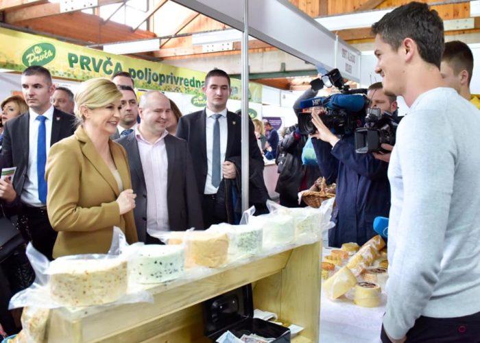 Predsjednica Grabar-Kitarović: Pravi cilj je postizanje gospodarskog rasta od pet posto godišnje