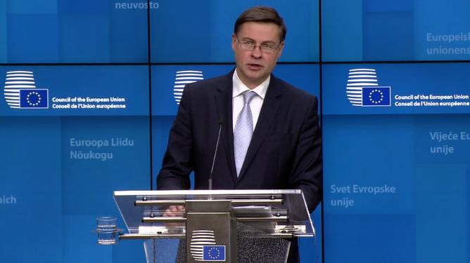 Dombrovskis: Hrvatska bliža eurozoni nakon izlaska iz prekomjernih makroekonomskih neravnoteža