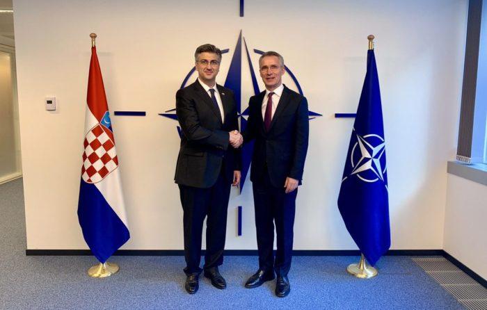 Plenković u sjedištu NATO-a na obilježavanju 10. obljetnice hrvatskog članstva