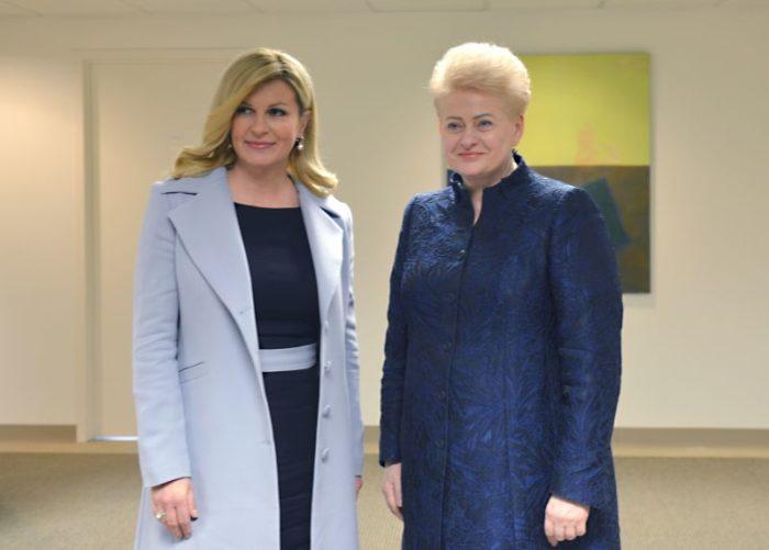 Hrvatska predsjednica Grabar-Kitarović preuzela predsjedanje Vijećem žena svjetskih lidera