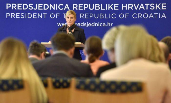 Predsjednica Grabar-Kitarović vjeruje da će Europa biti jača nakon brexita