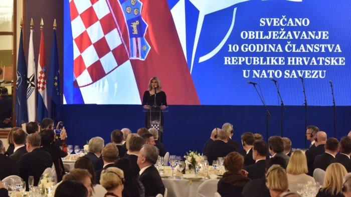 NATO pruža Hrvatskoj dugoročnu sigurnost, kažu dužnosnici na 10. obljetnicu članstva