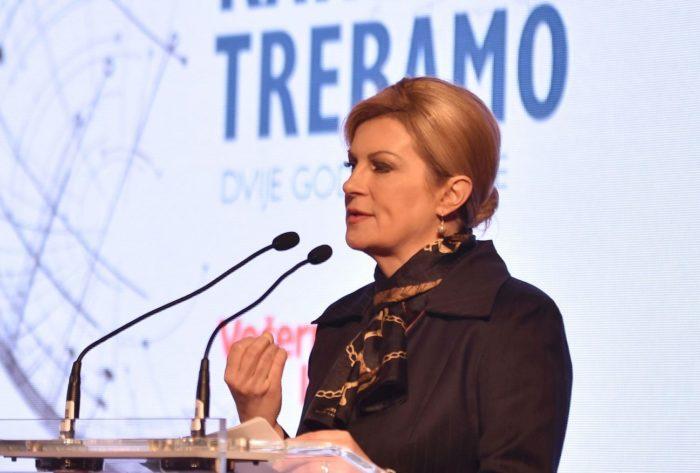 Predsjednica Republike Kolinda Grabar-Kitarović: Trebamo Hrvatsku po mjeri naroda