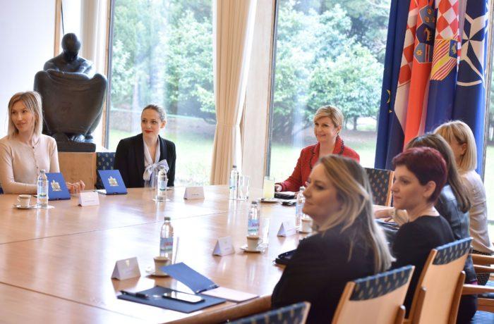 Predsjednica Grabar-Kitarović primila predstavnice inicijative #SpasiMe