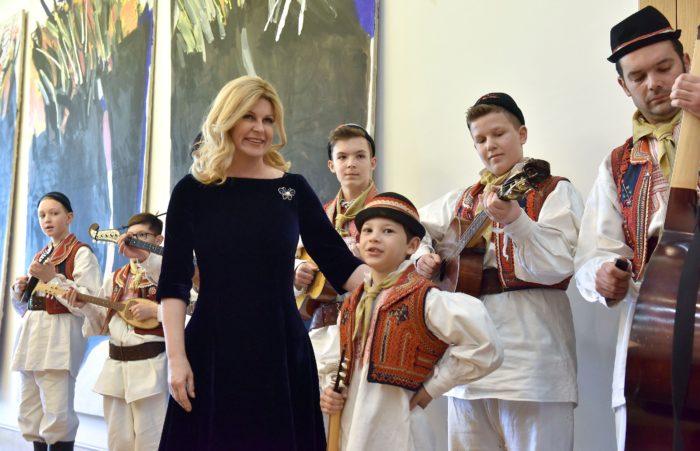 Predsjednica Grabar-Kitarović primila predstavnike Udruge za darovitost DAR