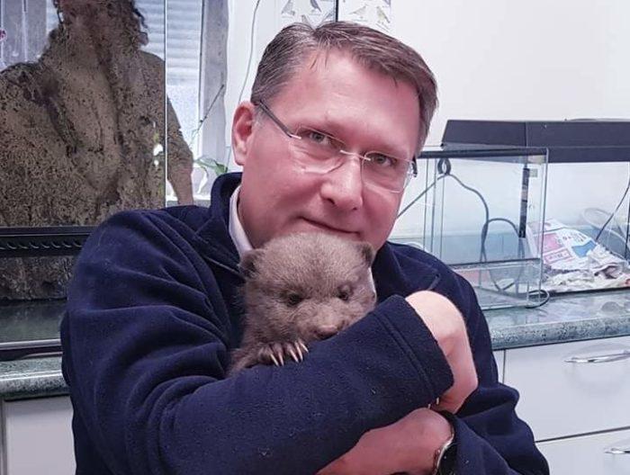 Spašeni medvjedić oporavlja se u zagrebačkom ZOO-u