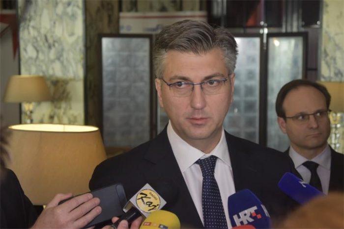Plenković uvjeren da problem slobode medija u Hrvatskoj ne postoji tako kako se to želi predstaviti