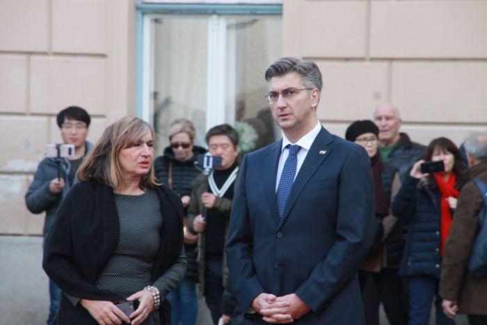 """Plenković: """"Žalac ostaje ministricom u mojoj vladi; Najvažnije da je djevojčica koju je ministrica udarila autom dobro"""""""