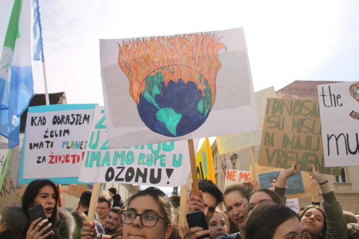 EP za ambicioznije planove protiv klimatskih promjena, izrazili su podršku prosvjedima mladih