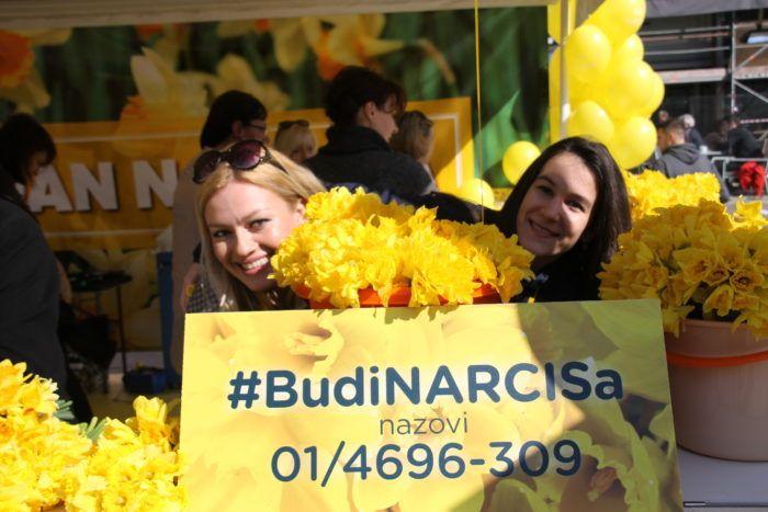 23. DAN NARCISA U ZNAKU PADA SMRTNOSTI OD RAKA DOJKE: #BudiNARCISa