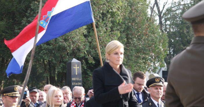 Predsjednica Grabar-Kitarović: Presuda Karadžiću trajna opomena velikosrpskim ideolozima