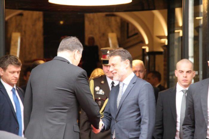 Predsjednik Hrvatskoga sabora Jandroković se sastao s predsjednikom Latvije Vejonisom