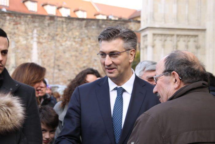 """Plenković: Milinovićevi birači su """"realno birači"""" HDZ-a"""