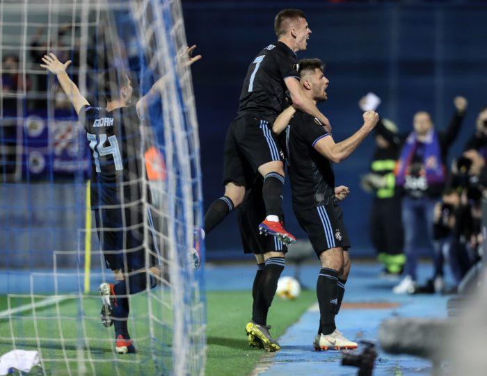 EUROPSKA LIGA: Dinamo srušio Benficu 1-0 pred 29.704 gledatelja na stadionu Maksimir