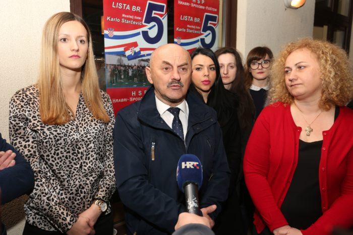 Predsjednik HSP-a i gradonačelnik Gospića Karlo Starčević: Bez HSP-a se neće moći formirati vlast
