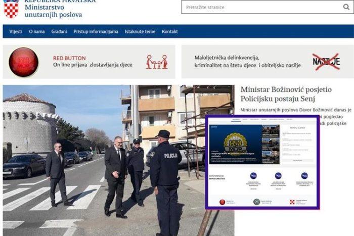 Nove stranice MUP-a donose savjete o samozaštitnom ponašanju, novost je i kategorija građani detektivi