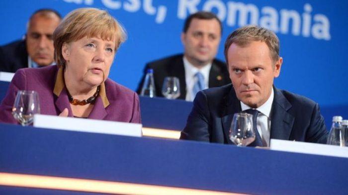Merkel podržala Tuskovu ponudu kratke odgode brexita