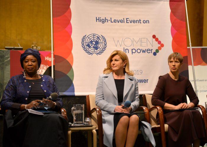 Grabar-Kitarović na UN-ovoj konferenciji pozvala na osnaženje svih žena u svijetu