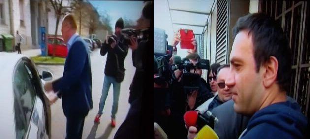 """Optuženici u """"aferi SMS"""" Franjo Varga i Blaž Curić pušteni iz istražnog zatvora"""