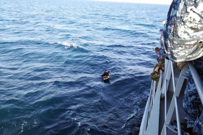 Brod HRM-a spasio surfera u Zadarskom kanalu