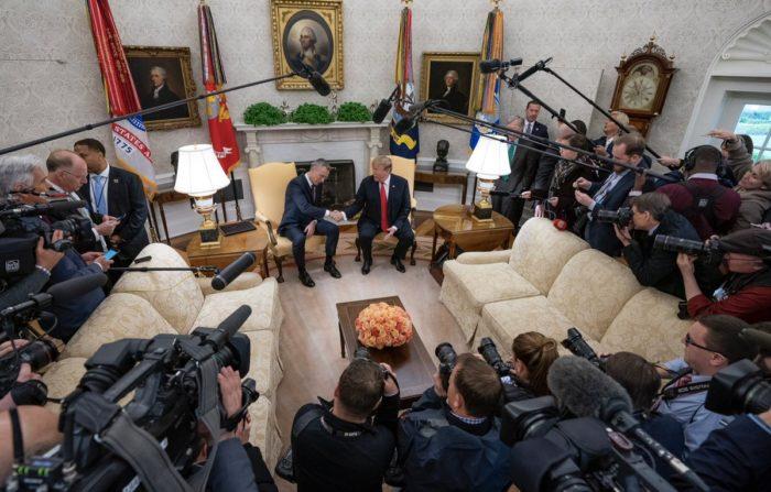 Američki predsjednik Trump hvali NATO u prigodi njegove 70. obljetnice