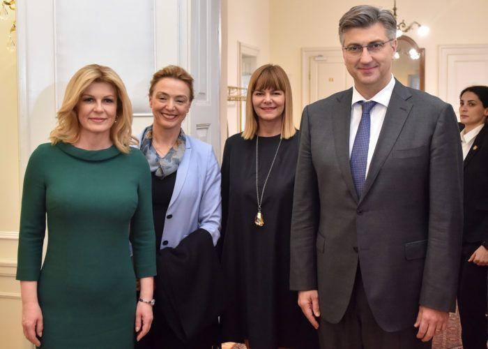 Vladi predstavljeni rezultati rada Radne skupine predsjednice Republike za razvoj identiteta i brenda Republike Hrvatske