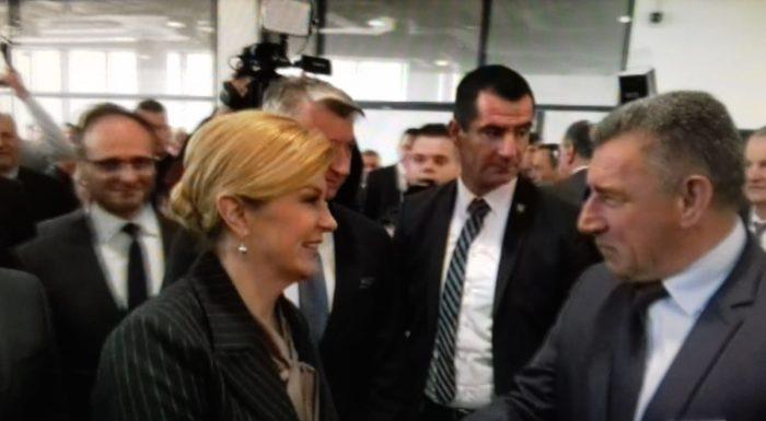 Predsjednica Grabar-Kitarović otvorila novu zgradu putničkog terminala u zadarskoj luci Gaženici, stigao i general Ante Gotovina