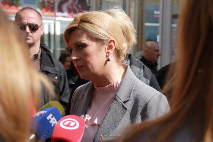Predsjednica Republike Kolinda Grabar-Kitarović: Novac za izbornu kampanju nije bačen, ostaje u Hrvatskoj
