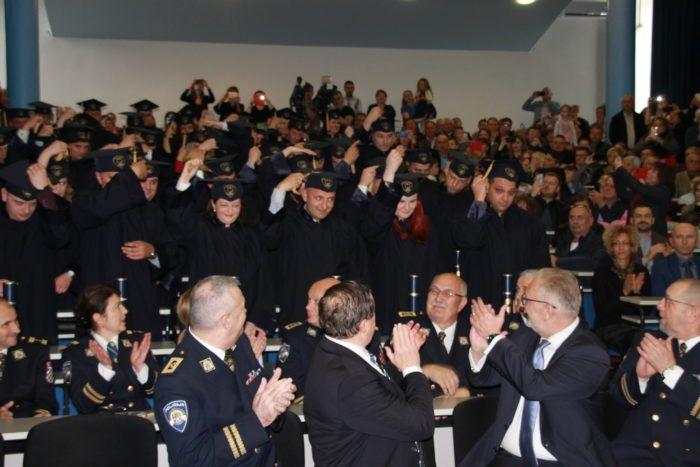 Promocija diplomanata specijalističkog diplomskog stručnog studija kriminalistike