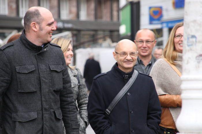 Goran Aleksić: Stranka Snaga u EU parlament s aktivistima udruge Franak