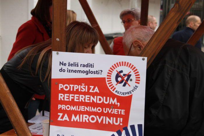"""Odaziv na sindikalnu inicijativu """"67 je previše"""" u Zagrebu """"više nego dobar"""""""