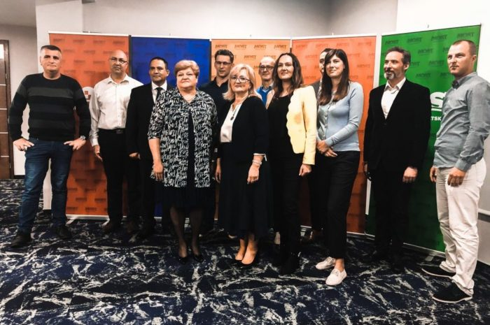 "Most predstavio program za izbore za Europski parlament pod sloganom ""Zemlja borbe vrijedna"""