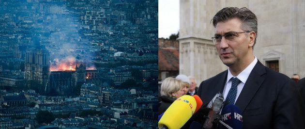 Plenković: Večeras smo svi solidarni s francuskim narodom