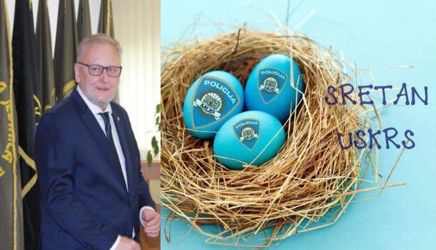 Božinović uputio uskrsnu čestitku: Povodom najvećeg kršćanskog blagdana, vama i vašim obiteljima neka je sretan i blagoslovljen Uskrs!