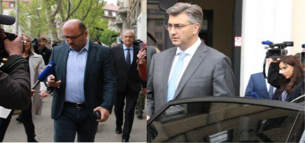 Brkić: Sve je super; Plenković: Institucije trebaju nastaviti sa svojim aktivnostima