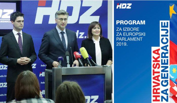 """Ressler predvodi HDZ-ovu listu na izborima za EP s programom """"Hrvatska za generacije"""""""