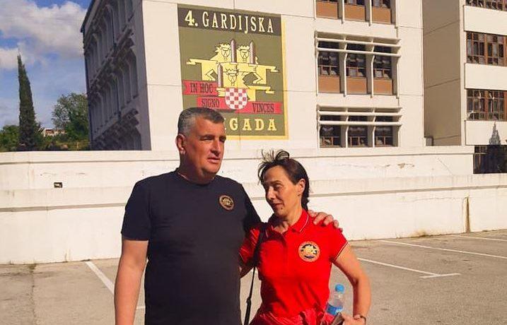 Bulj se na proslavi 4.GBR sastao s dr.sc. Ljiljanom Zmijanović, braniteljicom i doktoricom znanosti